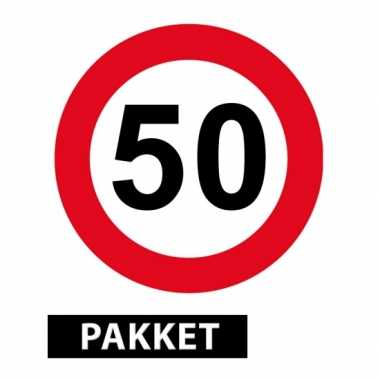 versiering 50 jaar 50 jaar getrouwd versiering pakket | Sarah 50.nl versiering 50 jaar