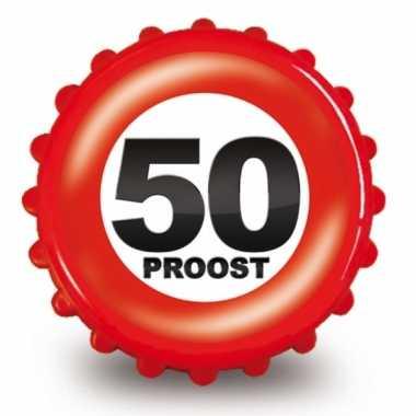 50 Jaar Verjaardag Opener Bierdop Sarah 50 Nl