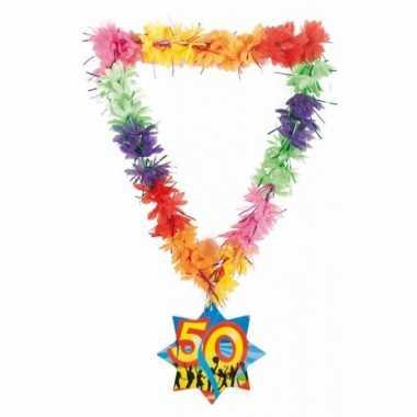 Gekleurde hawaiikransen 50 jaar