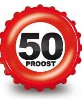 50 jaar verjaardag opener bierdop