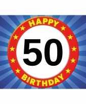 50 jaar verjaardagskaart ansichtkaart wenskaart happy birthday