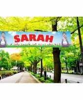 Grote sarah banier 200 cm