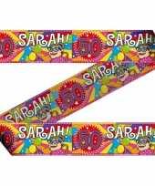 Sarah 50 jaar markeerlint 30x meter